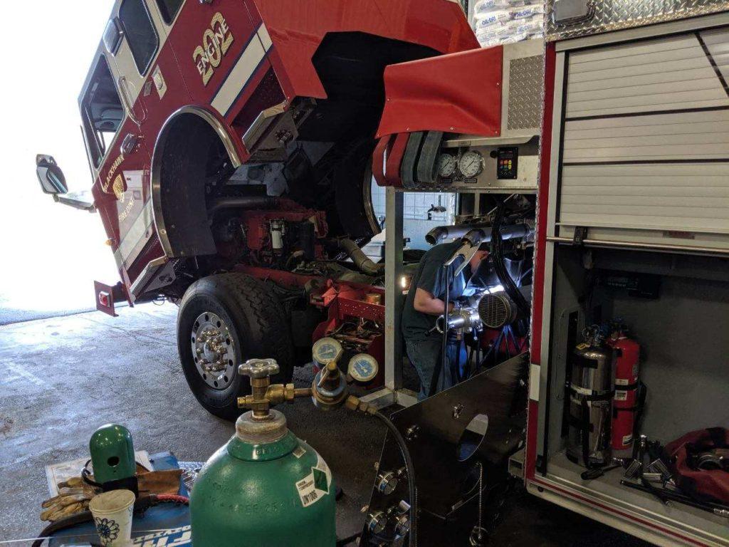 Fire Truck Welding