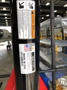 Jet Engine Lift/Hoist/Crane Piston
