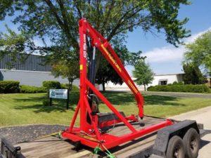 Jet Engine Lift/Hoist/Crane Delivery