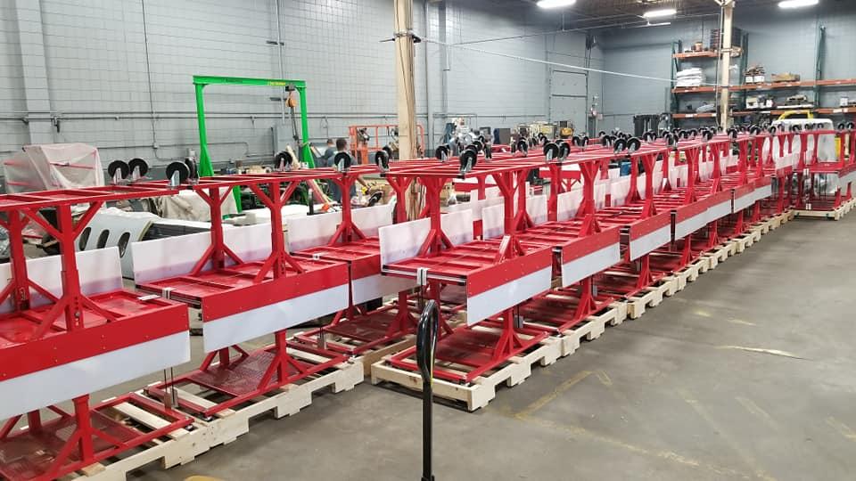 Retail Warehouse Shipping Carts