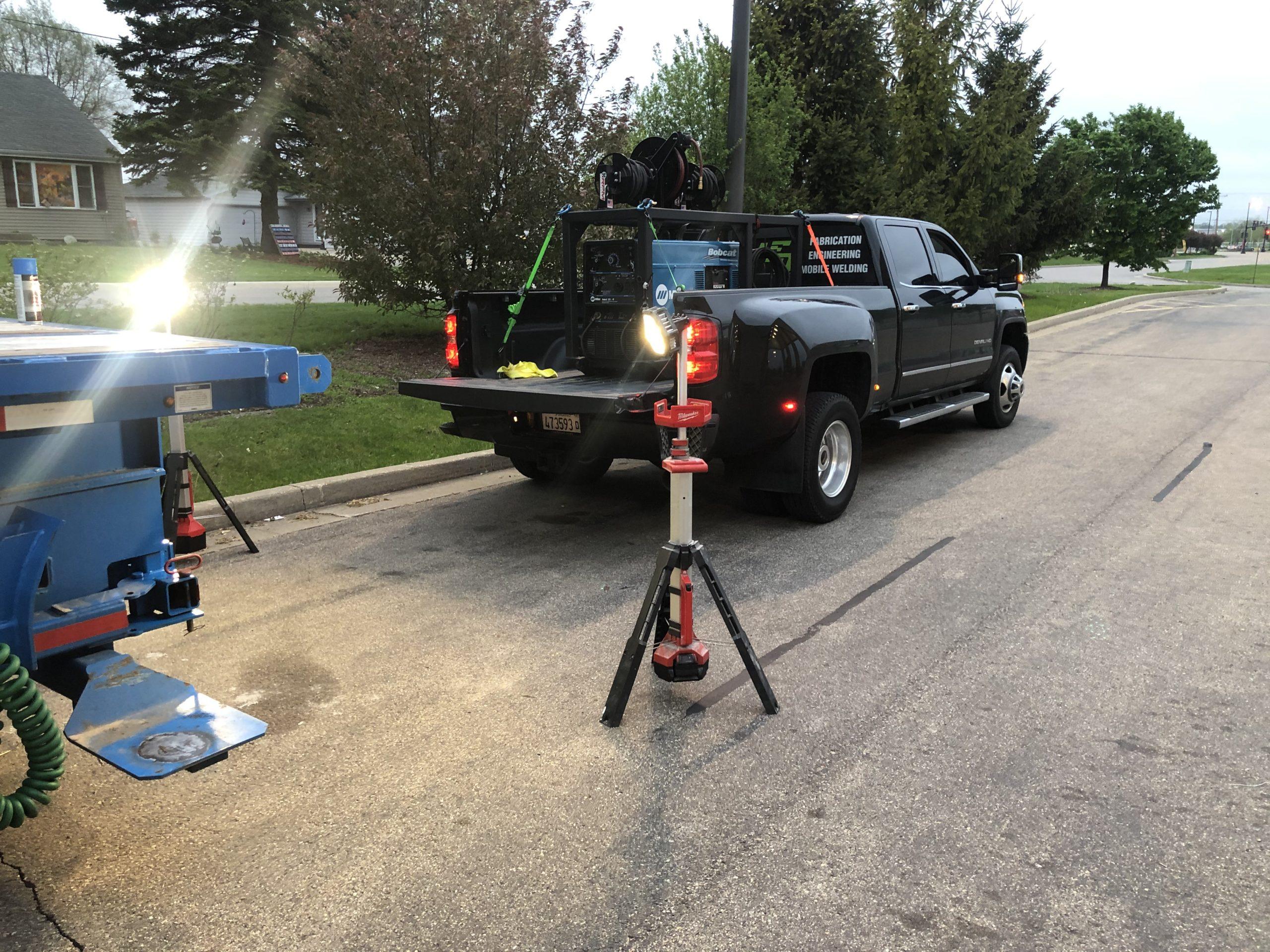 Lowe's Semi Mobile Weld Repair
